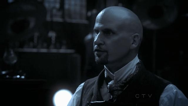 a screencap of sexy igor (played by Yurij Kis)