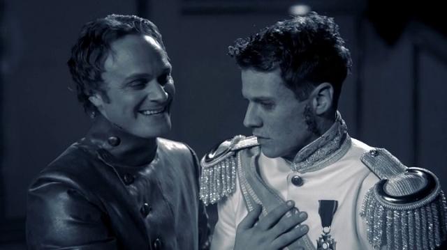 Victor Frankenstein (played by