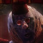 a screencap of the caterpillar (voiced by iggy pop)