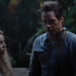 a screencap of wendy (played by freya tingley) reunited with an adult baelfire (played by michael raymond-james)