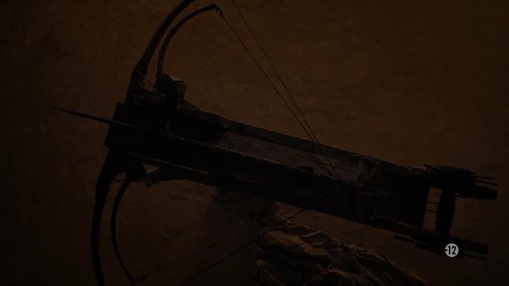maester gyburn's giant, dragon-killing crossbow