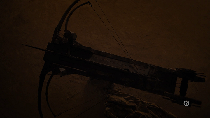 maester gyburn's giant, dragon-killing crossbow