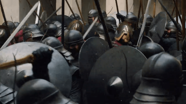 the unsullied lay seige to casterly rock