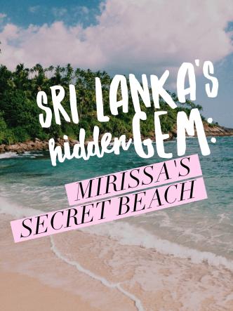 Mirissa, Sri Lanka: Secret Beach - title