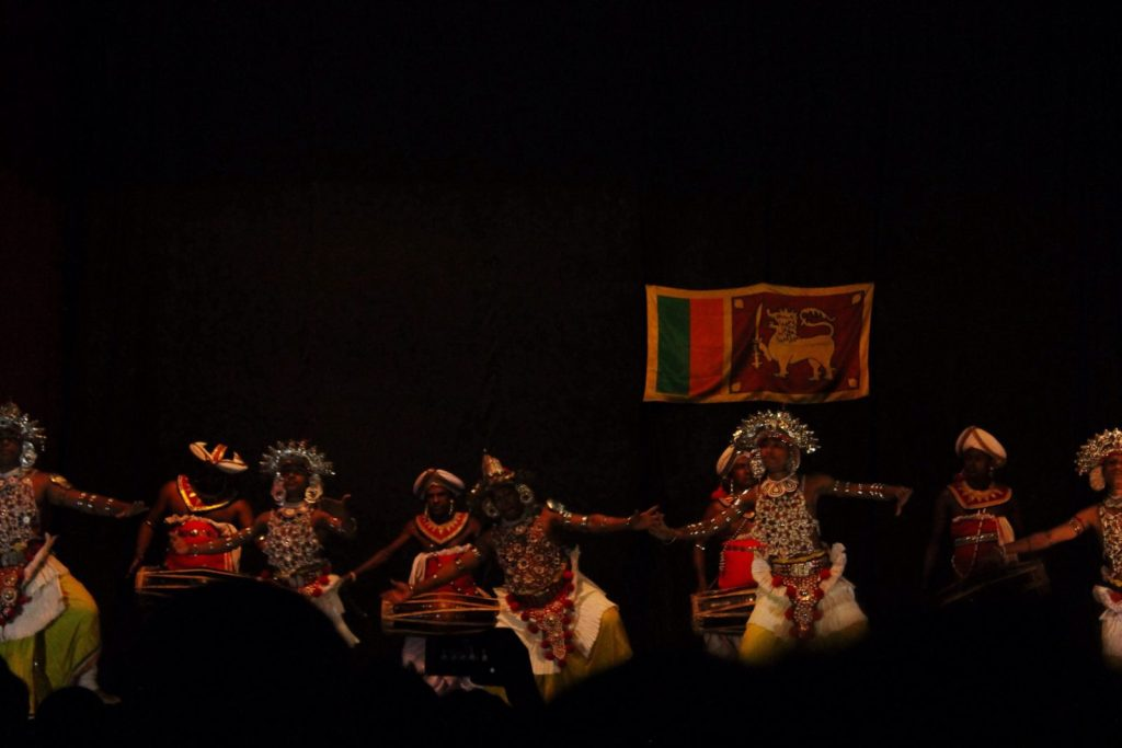 Sri Lankan Dancers in Kandy