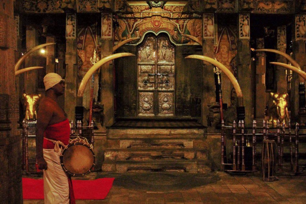 Puja Ceremony in Kandy, Sri Lanka