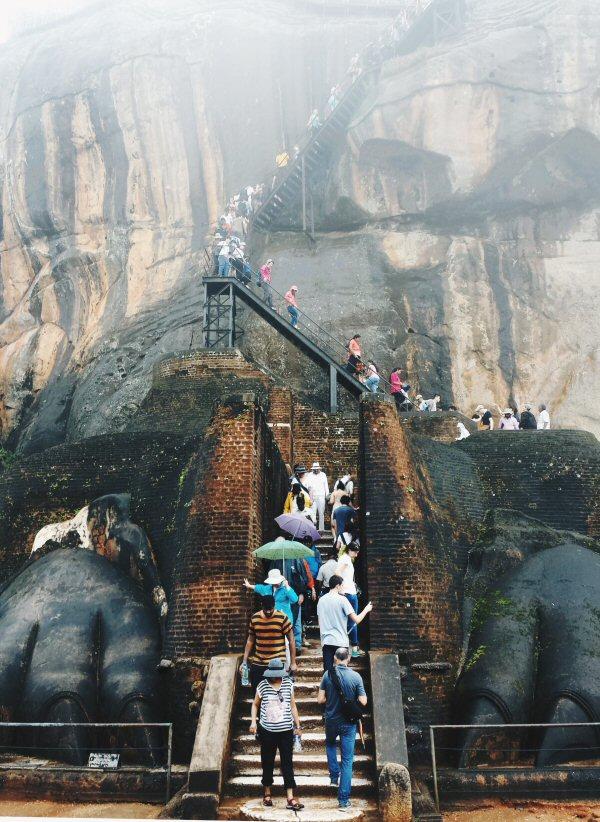 Sigiriya, Sri Lanka: Lion Rock