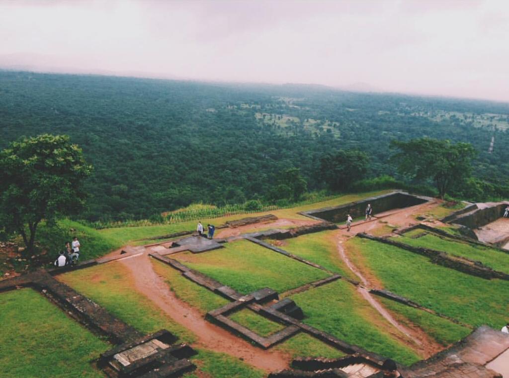 Sigiriya Gardens in Sri Lanka