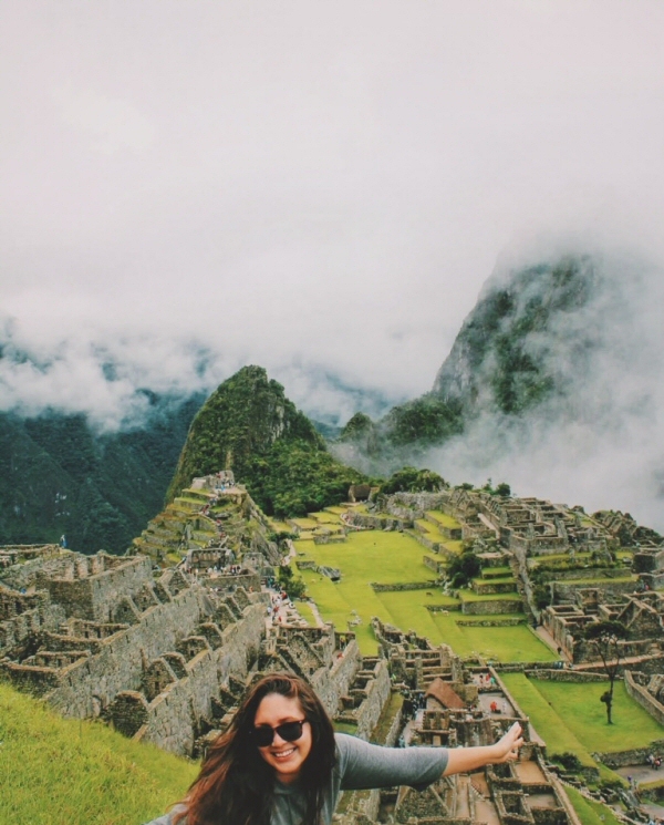 Lauren at Machu Picchu