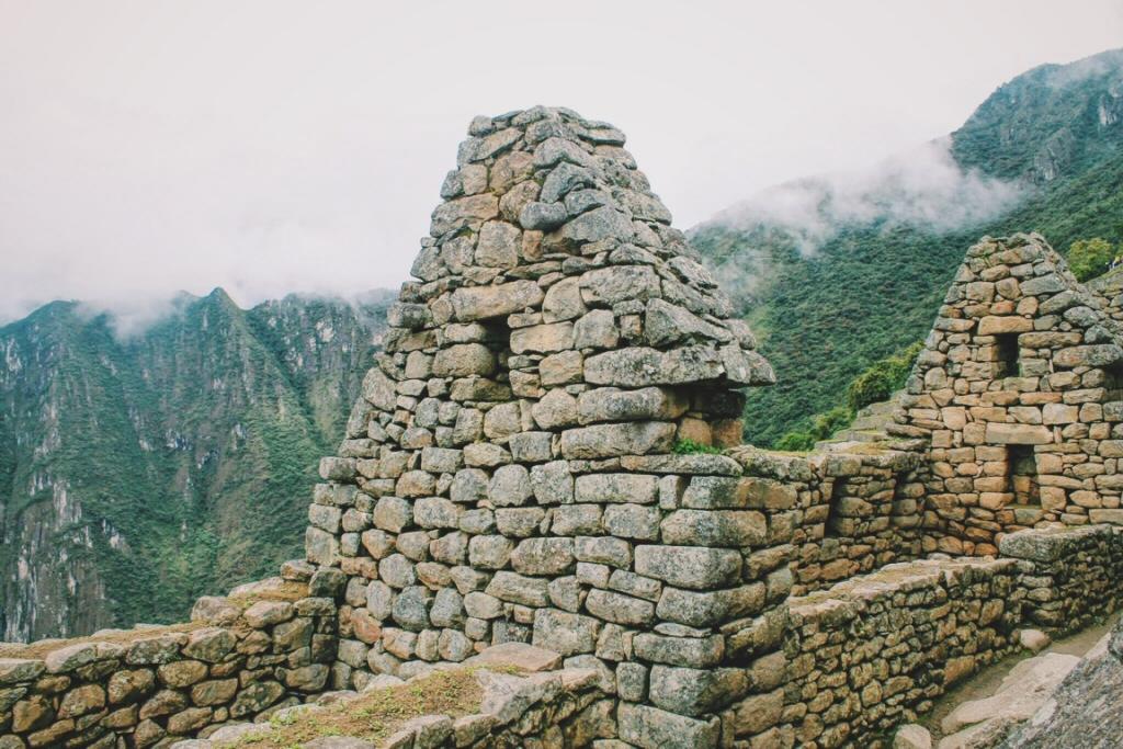 Exploring the Machu Picchu ruins