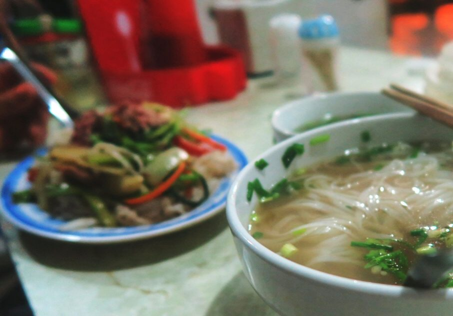 Pho Xao in Hanoi