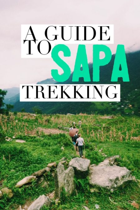 A Guide to Sapa Trekking and Hill-Tribe Homestay in the stunning rice fields of Vietnam! Everything you need to know for arranging your own tour, without using an agency!