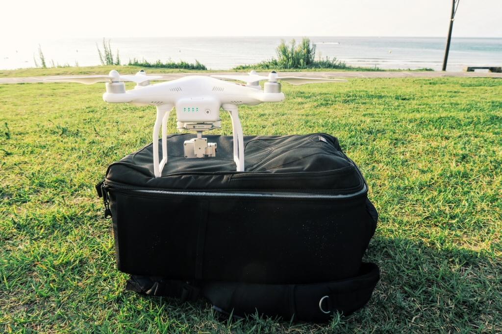 Backpacking with a Drone DJI Phantom