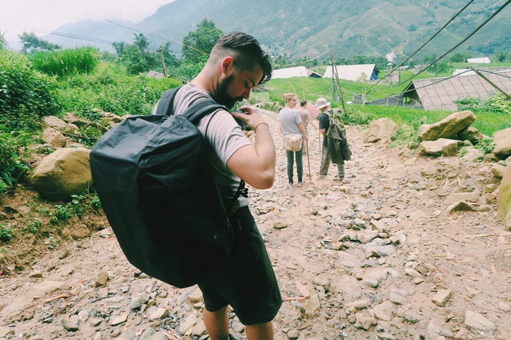 Backpacking with a drone in Sapa Vietnam