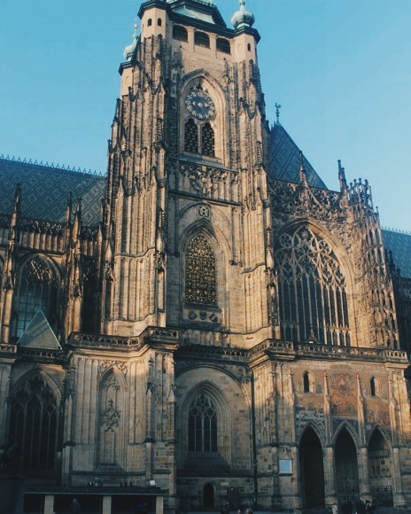 Gothic Prague St. Vitus Cathedral