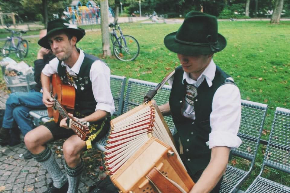 People of Oktoberfest, Munich, Germany