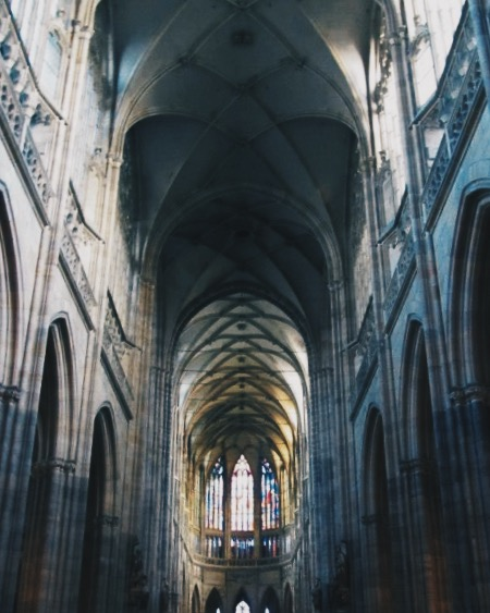 St. Vitus Cathedral: Prague Gothic Architecture