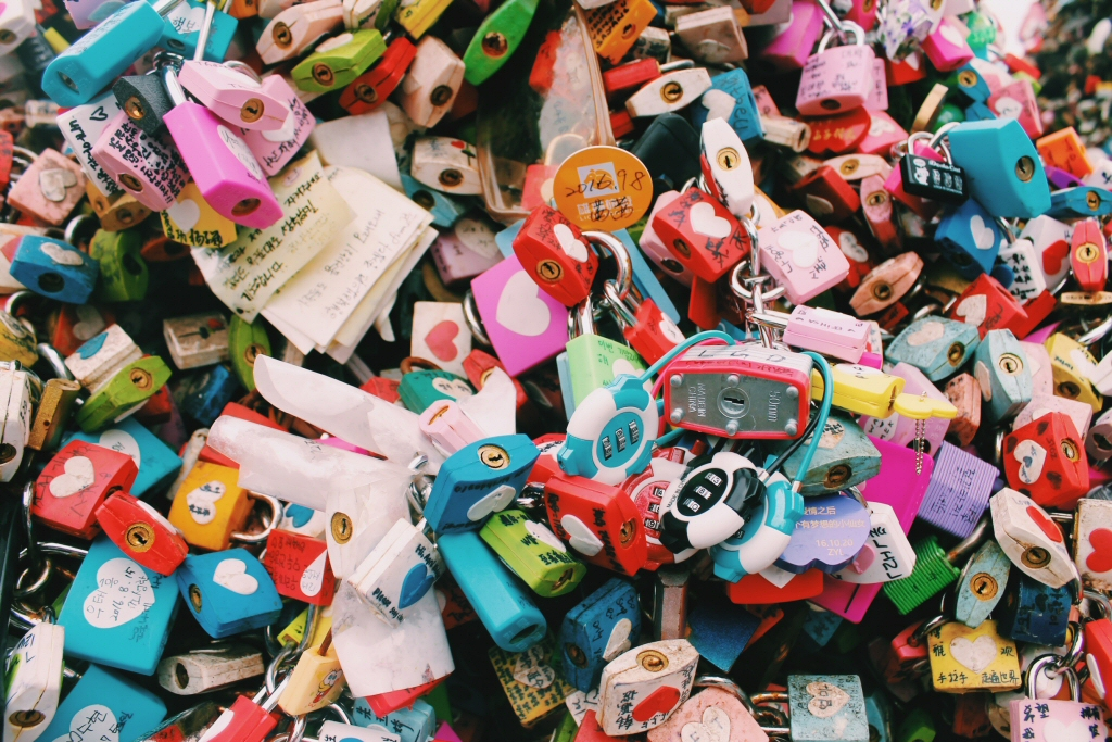 Namsan Love Locks - Couples Travel