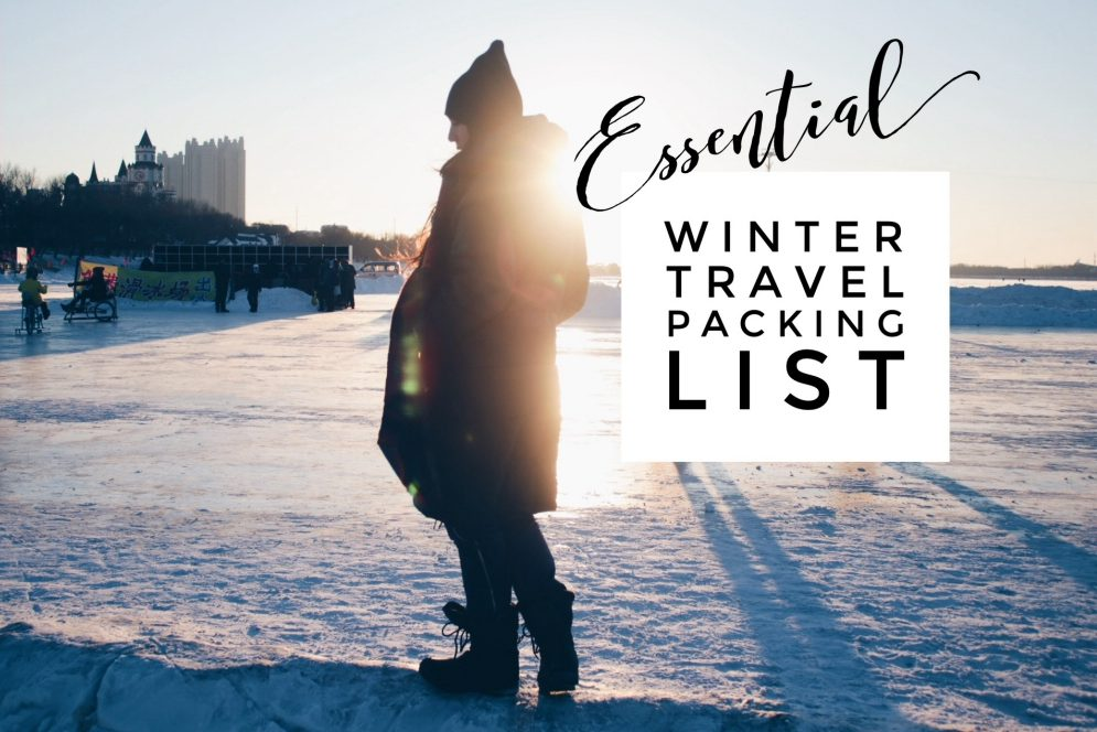 Essential Winter Travel Packing List for Subfreezing Temperatures: Everything you need to stay warm when traveling in cold weather!