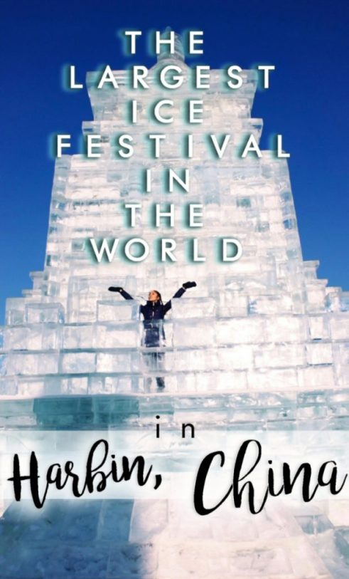 The Ultimate Guide to this China Ice City, the Harbin Ice Festival, which is the LARGEST ice festival in the world!