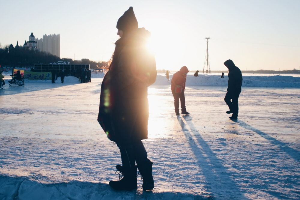 Best things to do in Harbin, China: Check out the frozen Songhua River!
