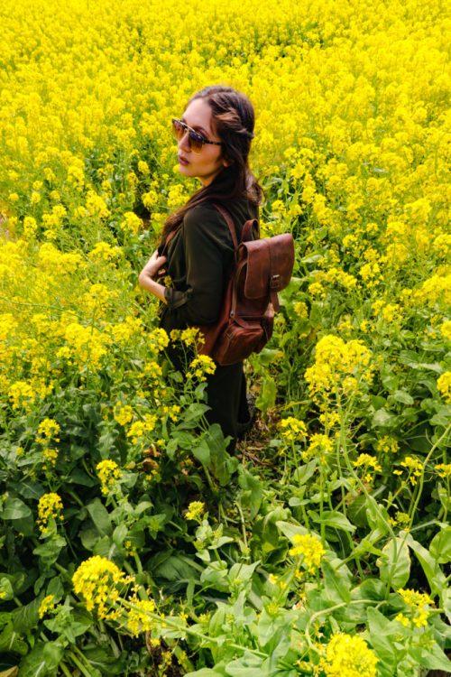 Best Travel Day Bag for Spring in Korea