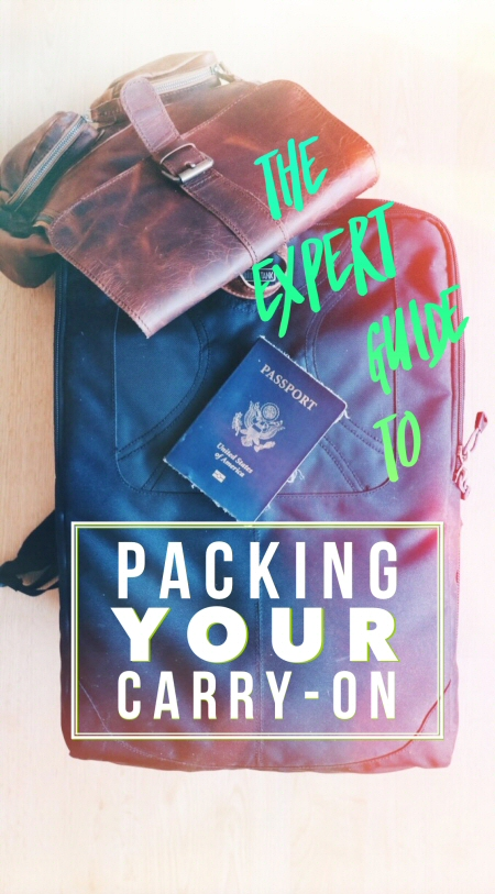 Make plane travel easier with this carry-on packing list, plus the things you can't take on a plane, the airline carry-on rules you should know, and more!