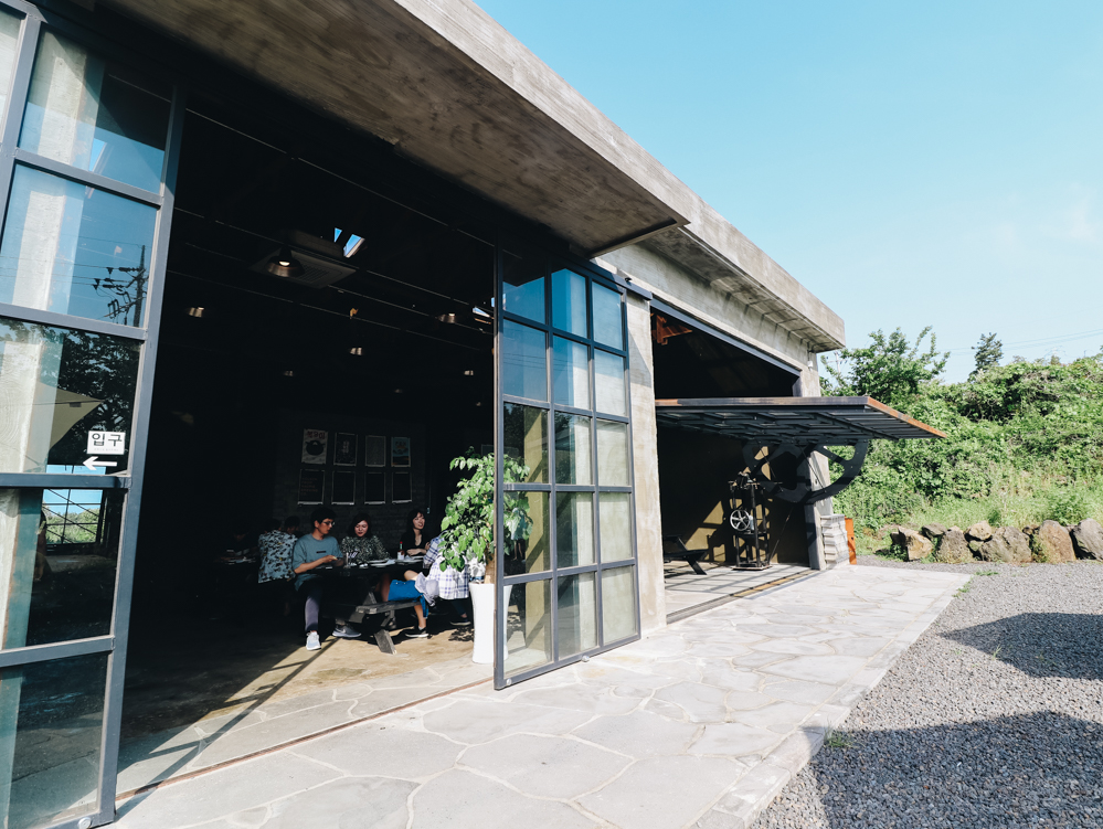 Magpie Brewing Company in Korea built this Jeju taproom from a tangerine farm