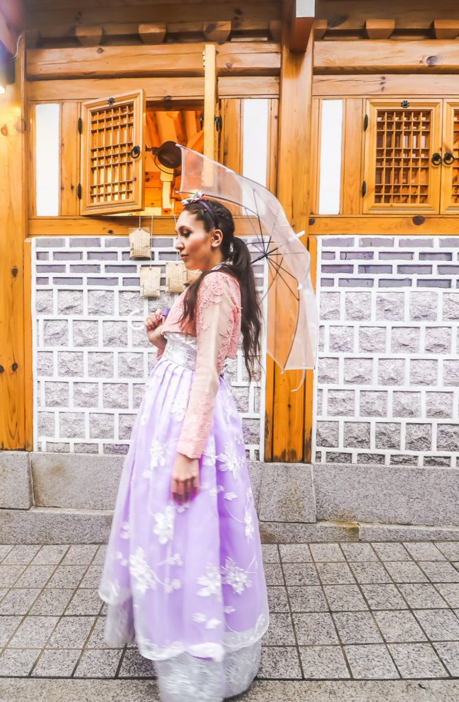Korean Hanbok in Seoul