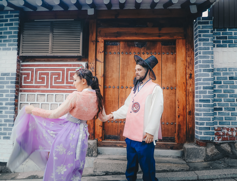 Love Renting this Korean Hanbok in Seoul