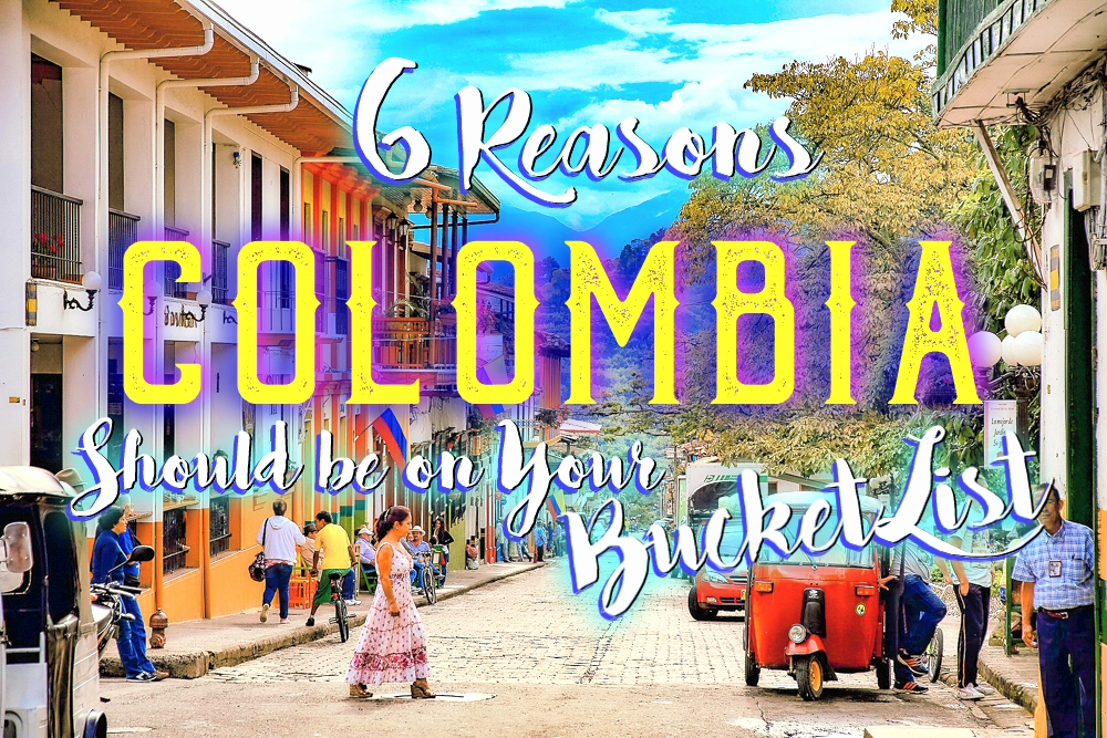 It's a traveller's paradise, with rich culture, friendly locals and stunning architecture. Here are just six reasons for why you need to visit Colombia!