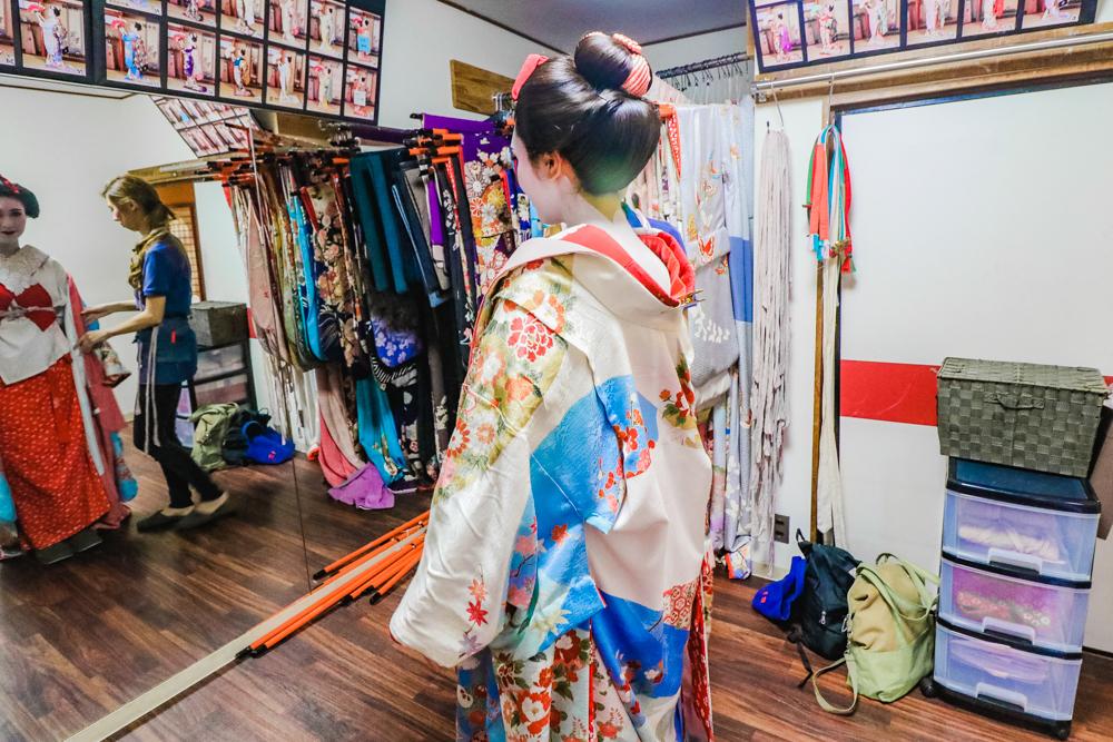 Japanese Geisha Kimono Makeover