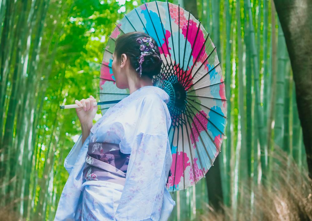 Japanese Yukata Kyoto Rental