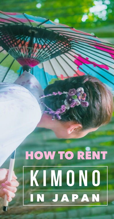 Learn the best place to rent a kimono or Japanese yukata in Kyoto or anywhere else in Japan! Includes a guide to the Kyoto kimono rental process or yukata rental process itself.