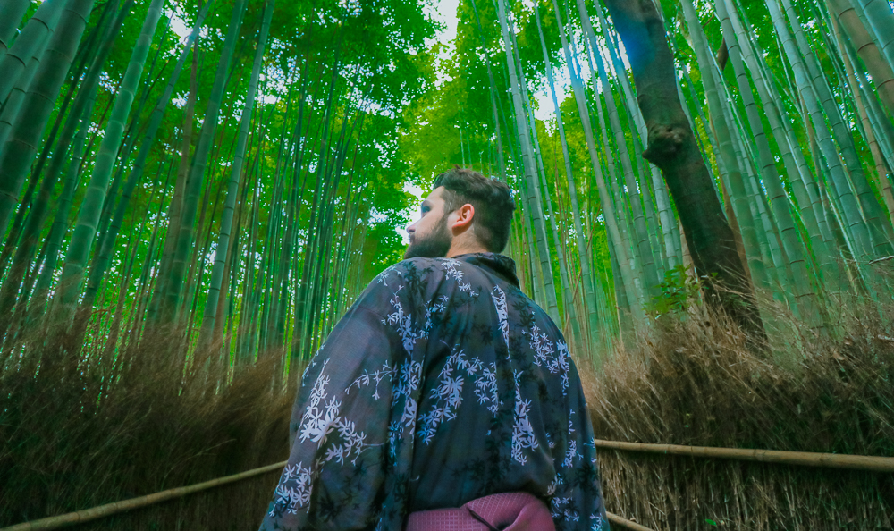 Renting Kimono for Men in Japan is so easy and fun!