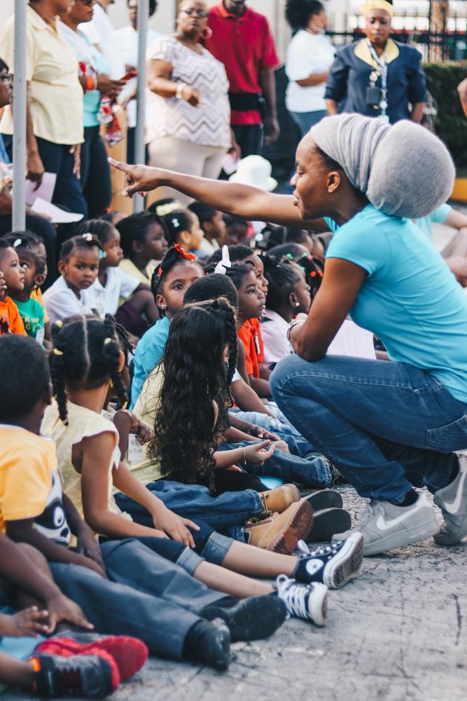 Working with children on Fathom Cruises
