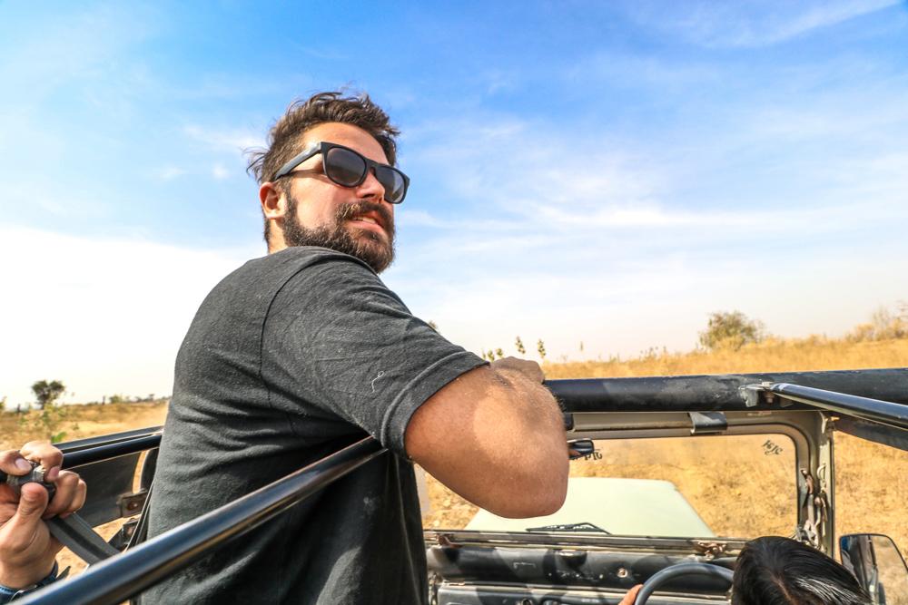 Desert Jeep safari at Thar Oasis Resort & Camp