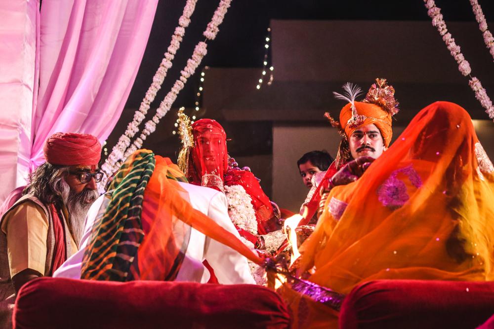 Royal Indian wedding at Thar desert location