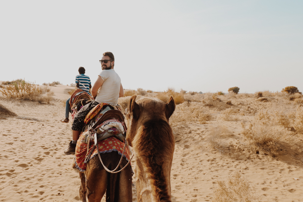 Camel Safari in Rajasthan