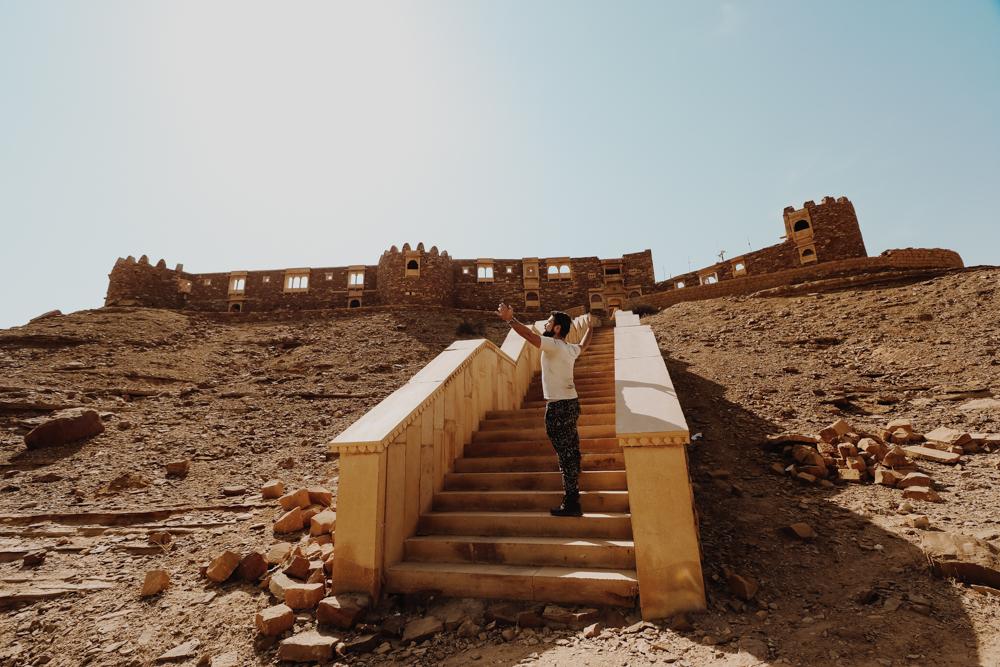 Exploring Ghost Village in Rajasthan