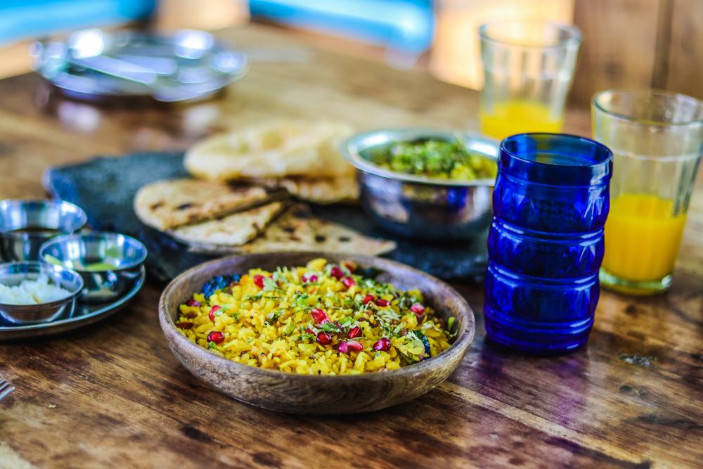 Food at Lakshman Sagar, Rajasthan, India