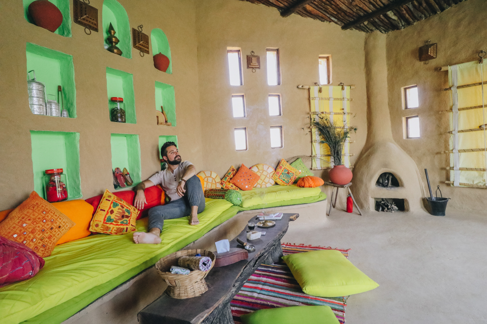 Private luxury cottage in Rajasthan resort