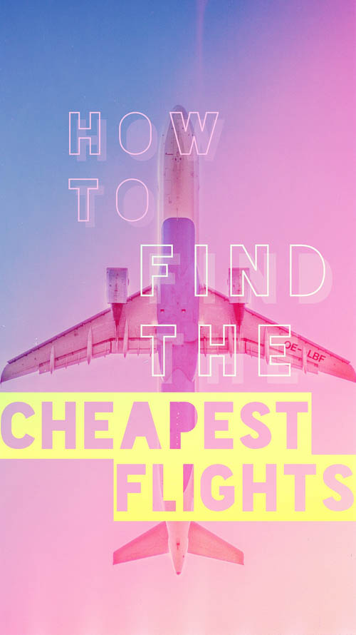 How do we find the cheapest flights? Learn our secret cheap flight search resources to score the best travel hack deals, including expert tips for using them! Finding the best flight deals can help you save tons of money for your trip, and there are a few easy methods for how to find cheap flights!