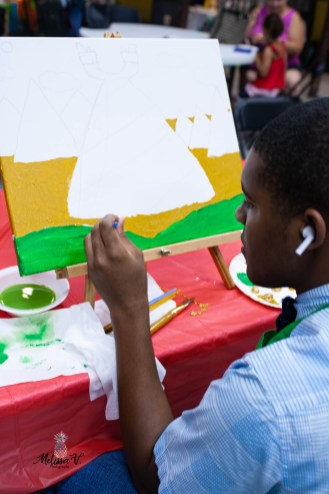 Strokes Chris painting