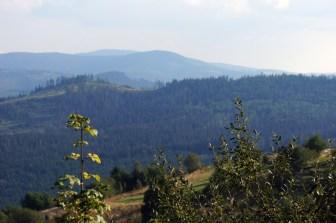 Piękne widoki w Koniakowie