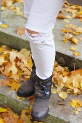 Spodnie z pazurem - wspomnienie lata