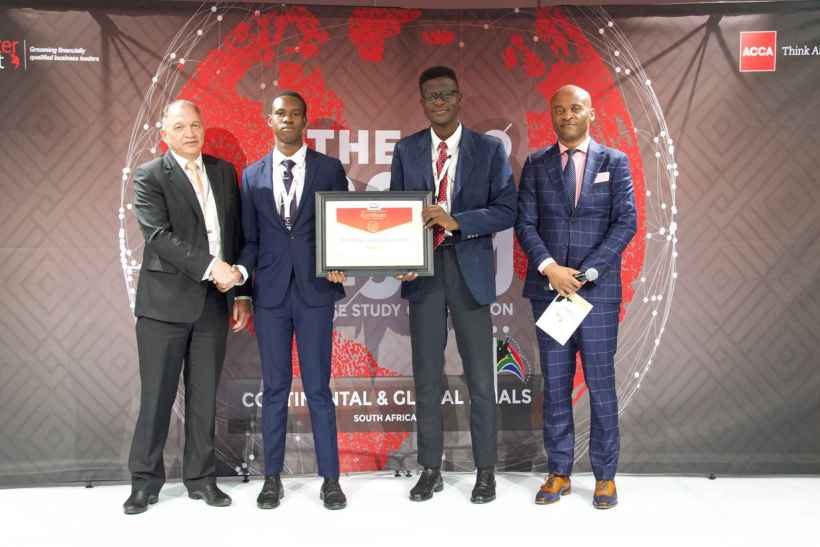Meet the UI Students who won at the global CFO Challenge