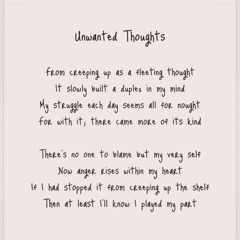 Unwanted Thoughts