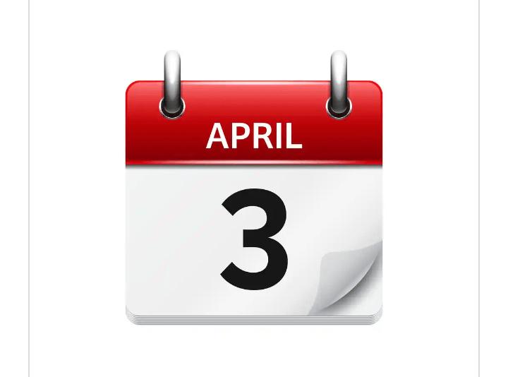 APRIL 3 - OBLIVION