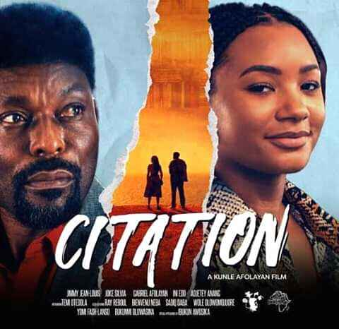 Citation is more than just the average Nollywood film.